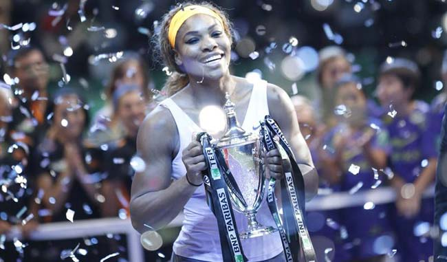 serena williams master