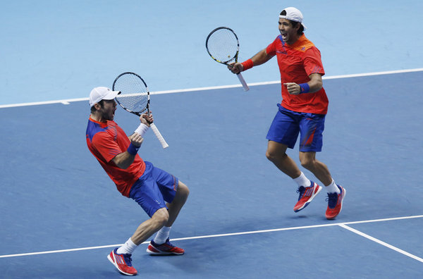 David Marrero y Fernando Verdasco