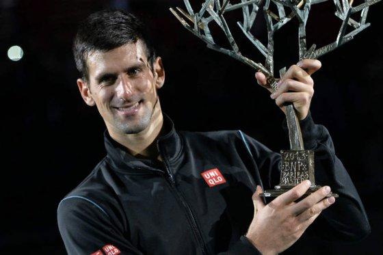 Djokovic paris 2013