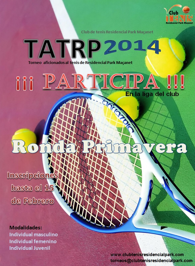Cartel TATRP 2014 Ronda primavera
