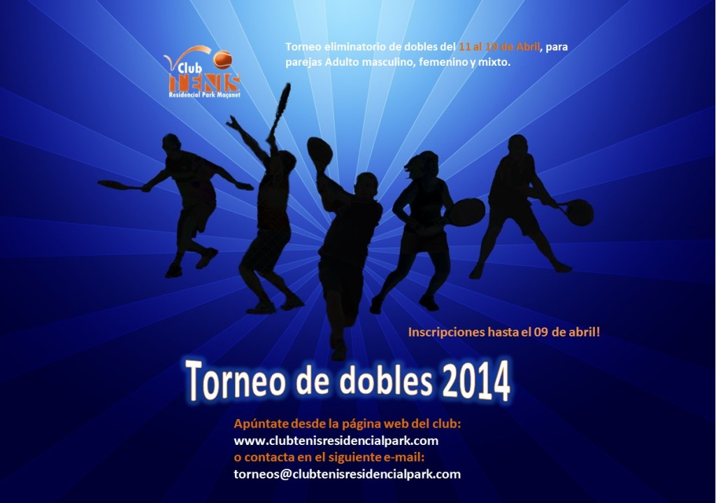 Torneo de dobles 2014