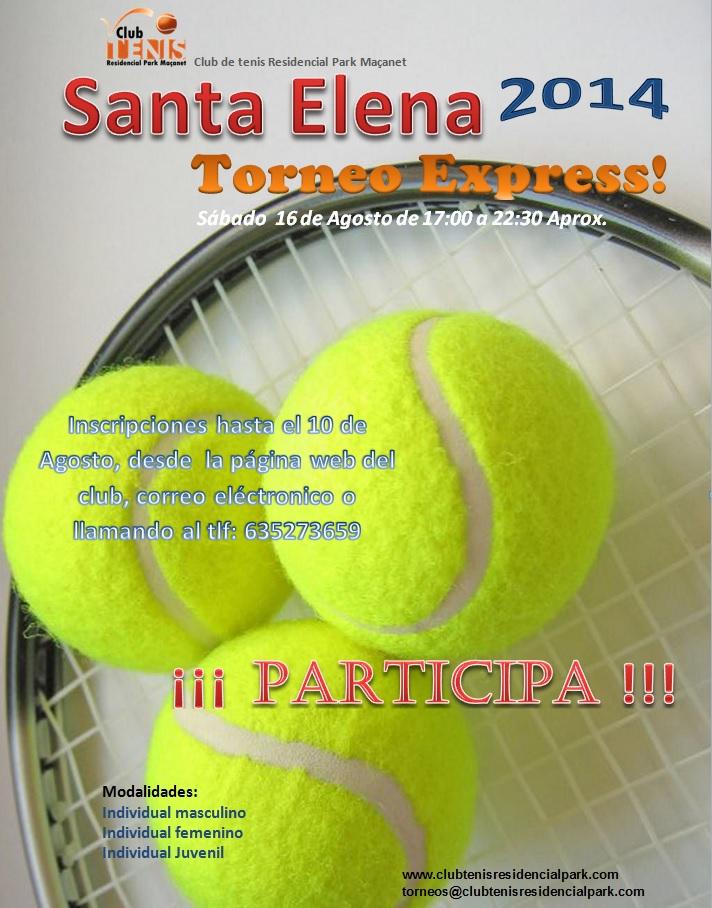 Cartel torneo santa elena 2014